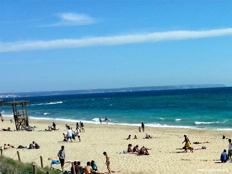 Пе зда на пляже